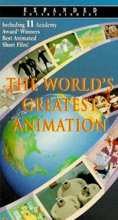 World's Greatest Animation [VHS] Julie Sedgewick, Maureen McElheron, Richard Condie, Jay Brazeau, Ida Osler, John Minnis, Randy Woods, Bill Guest, Tonny Huurdeman, Annemieke Ring, Peter Ring, Bernard Carez, Bill Kroyer, Bill Plympton, B�rge Ring, Chri