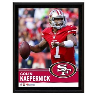 Colin Kaepernick San Francisco 49ers Sublimated 10.5 x 13 Plaque