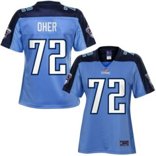 Pro Line Womens Tennessee Titans Michael Oher Team Color Jersey