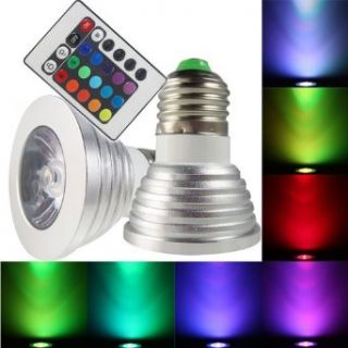 Remote Control Magic Lighting LED Light Bulb with 16 Different Colors and 5 Modes   Led Household Light Bulbs