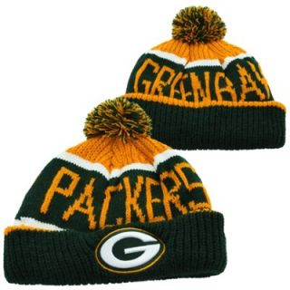 47 Brand Green Bay Packers Calgary Cuffed Knit Hat   Green/Gold