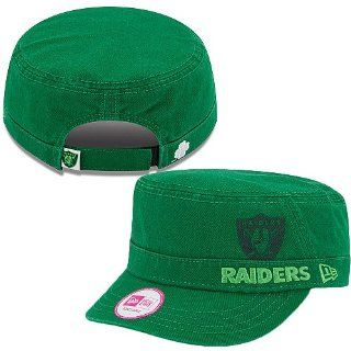 Women's New Era Oakland Raiders St. Patrick's Day Military Hat Adjustable  Sports Fan Baseball Caps  Sports & Outdoors