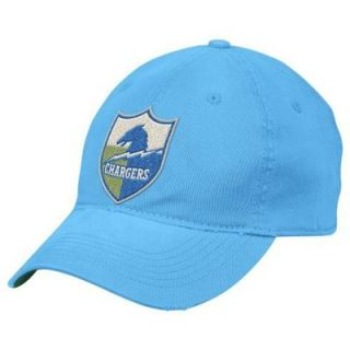 Reebok San Diego Chargers Light Blue Distressed Slouch Flex Hat
