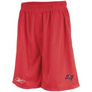 Reebok Tampa Bay Buccaneers Red Mesh Coaches Shorts