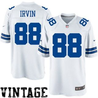 Nike Michael Irvin Dallas Cowboys Legends Replica Jersey   White