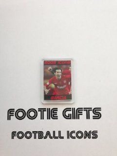 Liverpool 2005 ICONS Fridge Magnet   Luis Garcia  Sports Related Key Chains  Sports & Outdoors