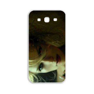 Diy Samsung Galaxy S3/SIII Fantasy Series girl with different eyes fantasy Black Case of Funny Case Cover For Men Cell Phones & Accessories