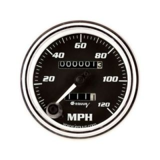 Equus Classic Series Chrome Speedometer