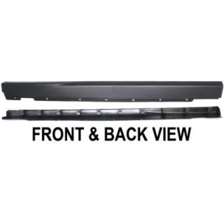 1967 1968 Ford Mustang Rocker Panel Trim   Replacement, FO1607102, Direct fit, Plastic