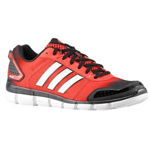adidas ClimaCool Aerate 3   Mens   Running   Shoes   Black/Metallic Silver/Light Scarlet