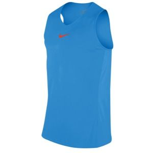 Nike Hybrid Tank   Mens   Basketball   Clothing   Photo Blue/Team Orange