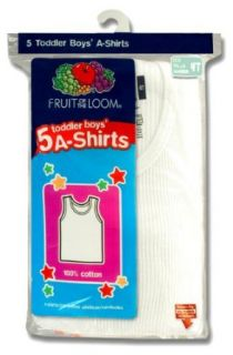 Fruit of the Loom Boys 2 7 Toddler A Shirt Five Pack Fashion T Shirts Clothing