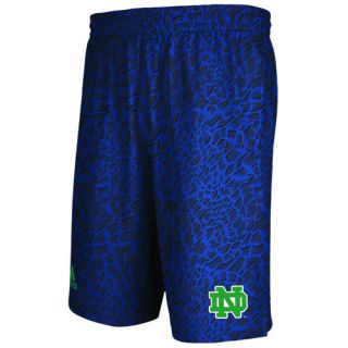 adidas College Crazy Light Shorts   Mens   Basketball   Clothing   Notre Dame Fighting Irish   Blue