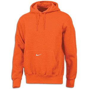 Nike Core Fleece Pullover Hoodie   Mens   For All Sports   Clothing   Orange/White