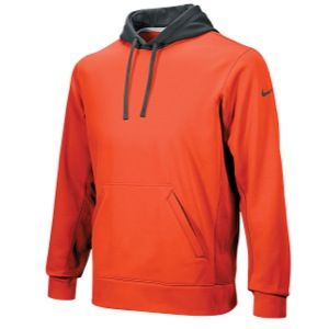 Nike FB KO Pullover Hoody   Mens   For All Sports   Clothing   Orange/Anthracite