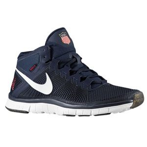 Nike Free Trainer 3.0 Mid   Mens   Training   Shoes   Obsidian/University Red/White