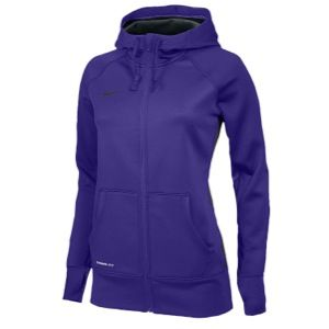 Nike Team Full Zip KO Hoody   Womens   For All Sports   Clothing   Cardinal/Anthracite