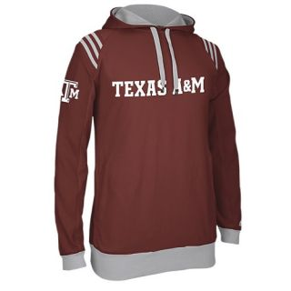 adidas College 3 Stripe Pullover Hoodie   Mens   Basketball   Clothing   Texas A&M Aggies   Maroon