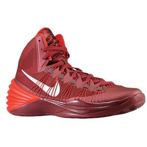 Nike Hyperdunk 2013   Womens   Basketball   Shoes   Team Red/University Red/Metallic Silver