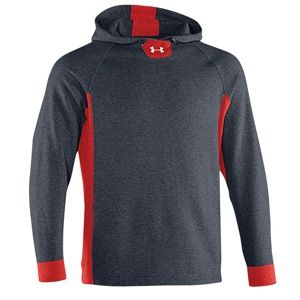 Under Armour Team Signature Storm Hoody   Mens   For All Sports   Clothing   Black/Red/White