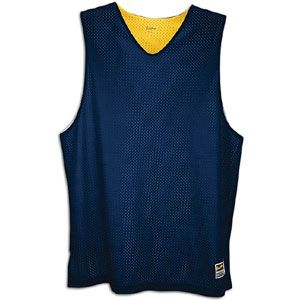 Basic Reversible Mesh Tank   Mens   Basketball   Clothing   Navy/Gold