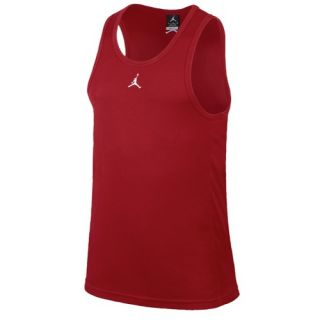 Jordan Buzzer Beater Tank   Mens   Basketball   Clothing   Gym Red/White