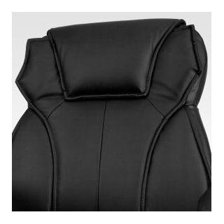 Flash Furniture High Back Black Leather Executive Office Chair with Triple Paddle Control
