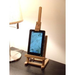 18 Inch Tall Stained Wood Table Top Easel Is Great for Painting or Display