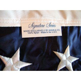 Signature American Flag  Us Flags  Patio, Lawn & Garden