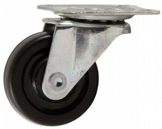 "1 1/2"" Soft Touch Heavy Duty Rubber Swivel Caster"