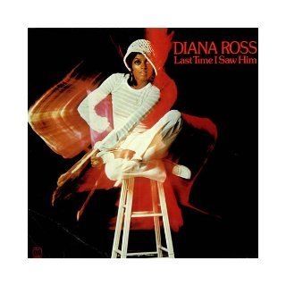 "Diana Ross, ""Last Time I Saw Him""   Vinyl Record Books"
