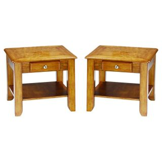 Jofran Panama End Table Set of 2   End Tables