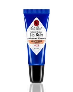 Mens Grapefruit and Ginger Lip Balm   Jack Black   Black