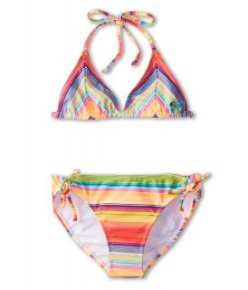 Roxy Kids Sundown Tiki Tri Set Girls Swimwear Sets (Multi)