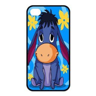Mystic Zone Winnie the Pooh Eeyore iPhone 4 Cases for iPhone 4/4S Cover Cartoon Fit Case KEK1183 Cell Phones & Accessories
