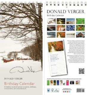 Donald Verger Jenne Farm Vermont Birthday and Anniversary Perpetual Wall Desk Fine Art Books and Calendars   Unique and Great Nature Gifts and Stocking Stuffers for Christmas, Xmas & Holidays for Him, Her, Women, Men, Husband and Wife   Updated 2014