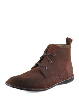Mens Dorchester Chukka Boot, Oxblood   Andrew Marc   Oxblood (13.0D)