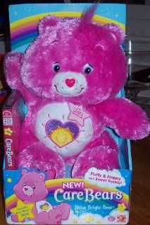Care Bears Fluffy & Floppy with Sweet Scents Shine Bright Bear & DVD Toys & Games