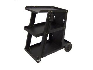 Metal Man TTWC1 Three Tier MIG Welding Cart   Welding Cable