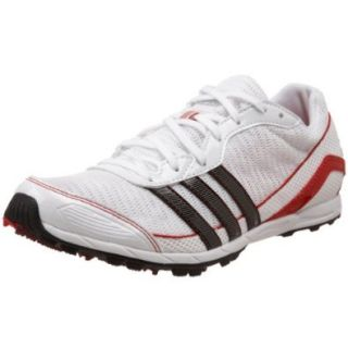 adidas Women's Xcs Spikeless Running Shoe,Running White/Black/Light Scarlet,11.5 M US Shoes