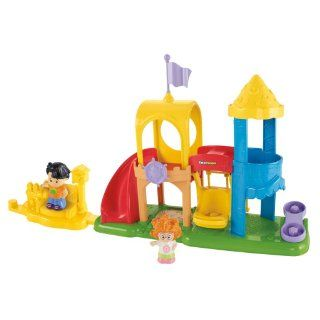 Fisher Price Little People Neighborhood Playground Playset Toys & Games