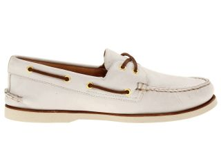 Sperry Top Sider Gold A/O 2 Eye Ivory