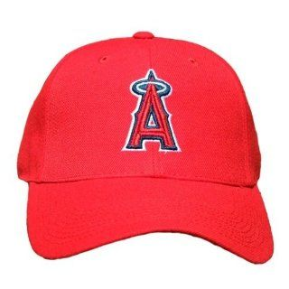 Vintage Anaheim Angels Adjustable Snapback Hat Cap   Red  Sports Fan Baseball Caps  Sports & Outdoors