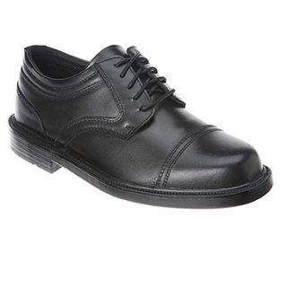 Deer Stags Telegraph  Men's   Black Leather