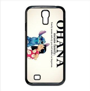 FashionCaseOutlet Ohana Means Family Lilo and Stitch Cases Accessories for Samsung Galaxy S4 I9500 Cell Phones & Accessories
