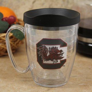 NCAA Tervis Tumbler South Carolina Gamecocks 15oz. Tumbler Mug with Lid  Sports Fan Coffee Mugs  Sports & Outdoors