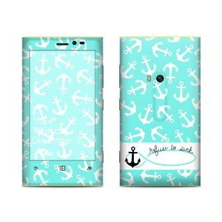 Refuse to Sink Design Protective Decal Skin Sticker (Matte Satin Coating) for Nokia Lumia 920 Cell Phone Cell Phones & Accessories