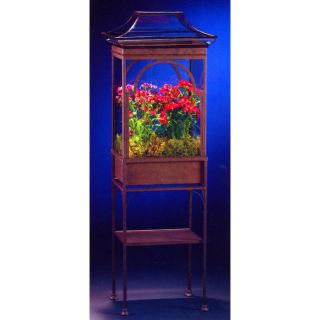 H. Potter Asian Wardian Case Terrarium with Stand   Greenhouses