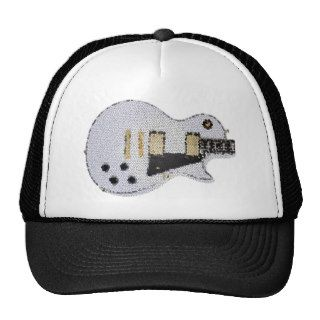 Guitar T stained glass Trucker Hat