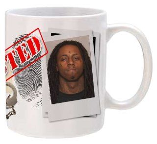 "Lil Wayne ""Mug Shot"" Collectible Mug"